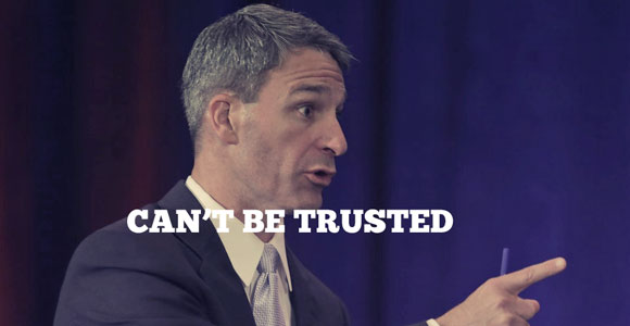 Ken Cuccinelli Can't Be Trusted