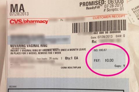 $0 Birth Control - Obamacare