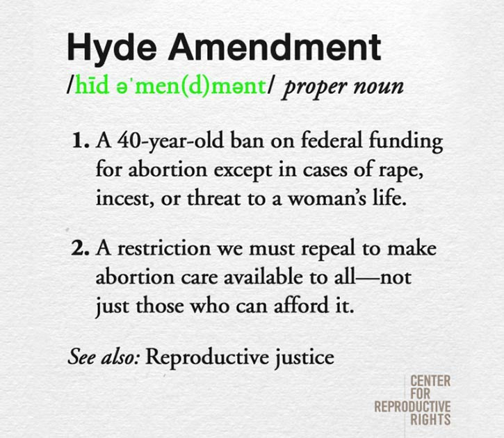 Hyde Amendment Definition