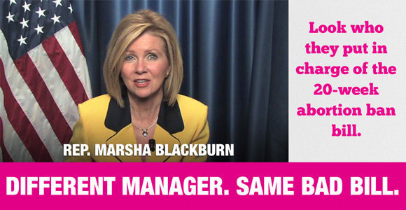 Marsha Blackburn on 20-Week Abortion Ban Bill