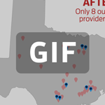 New Map: 80% of Abortion Providers in Texas Close Overnight