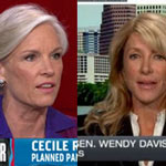 Cecile Richards and Wendy Davis