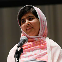 Malala Yousafzai Speaks at the United Nations
