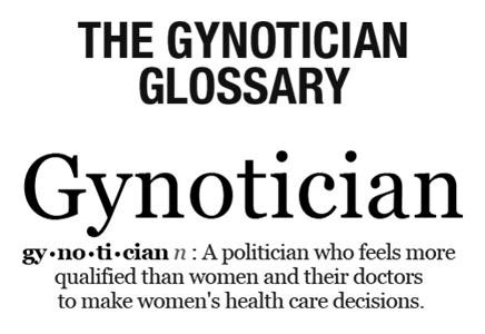 The Gynotician Glossary