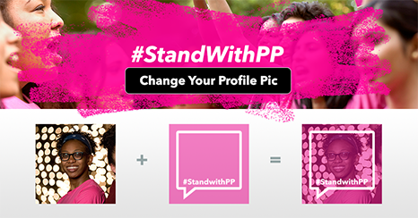 Change Your Profile Pic and #StandwithPP