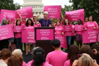 Rally at the Capitol with Cecile Richards and Members of Congress
