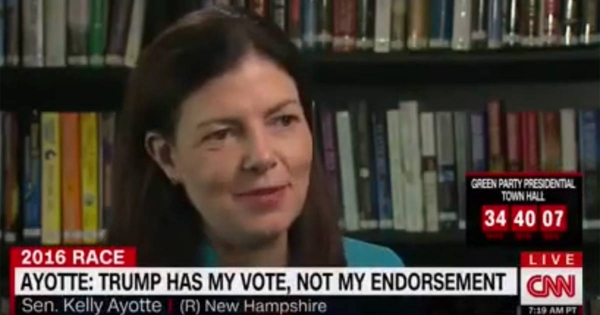 Kelly Ayotte Doubles Down On Trump: