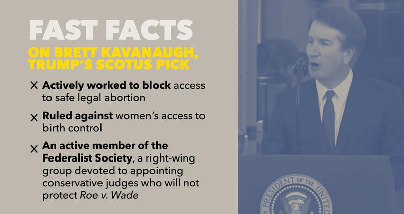 Help #SaveSCOTUS by fighting Trump's extreme Supreme Court nominee