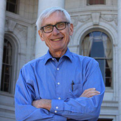 Photo of Tony Evers (Democrat)